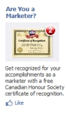 canada marketing marketer honour society