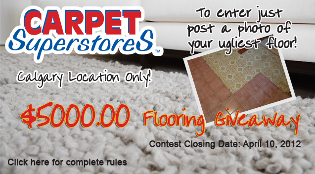 Calgary Carpet Superstores Flooring Contest