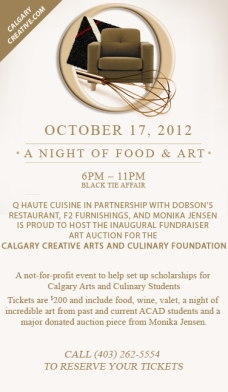 Calgary Creative Arts and Culinary Foundation