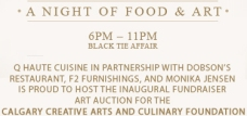 Calgary Creative Arts and Culinary Foundation