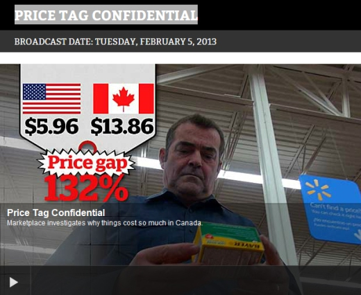 CBC Marketplace Prices in Canada